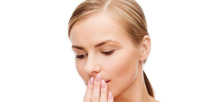чем полоскать зубы при неприятном запахе изо рта