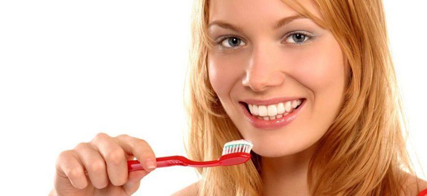 чистка зубов основные средства индивидуальной гигиены полости рта