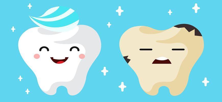 что нельзя есть что бы зубы не портились