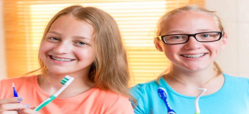 как ухаживать за брекетами и зубами после установки