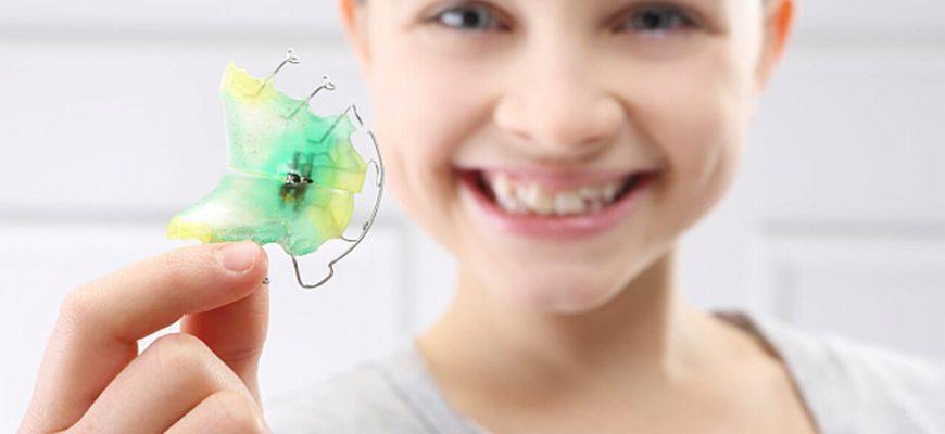 пластины на зубы для исправления прикуса у детей