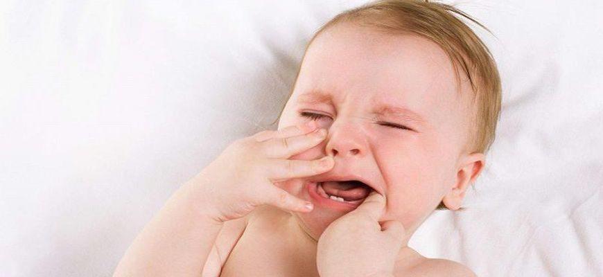 температура у детей при прорезывании зубов народные средства